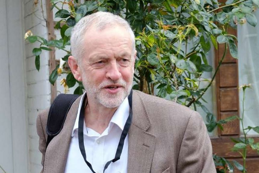 British Labour Party leader Jeremy Corbyn has asked for calm after his challenger Angela Eagle's office was vandalised.