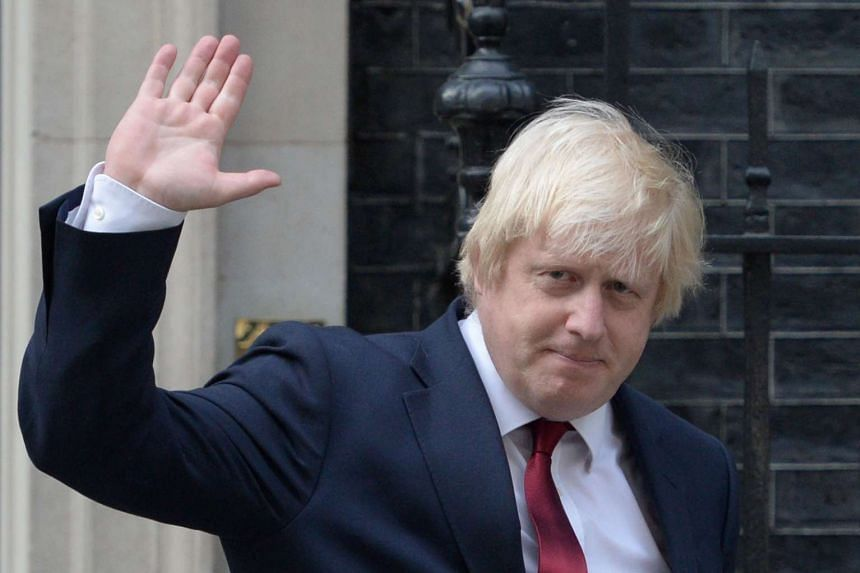 Newly appointed Foreign Secretary Boris Johnson leaving 10 Downing Street on July 13, 2016.