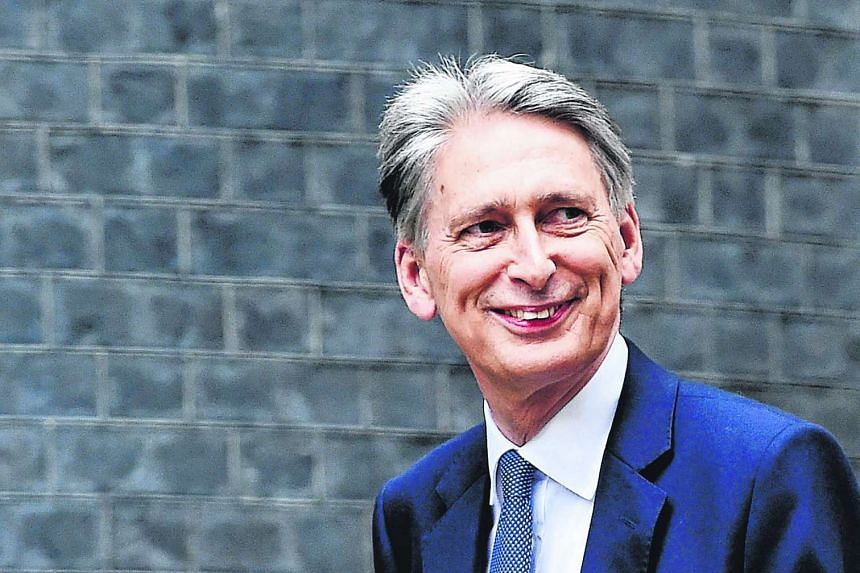Philip Hammond was moved from the foreign office to run the finance ministry by British Prime Minister Theresa May.