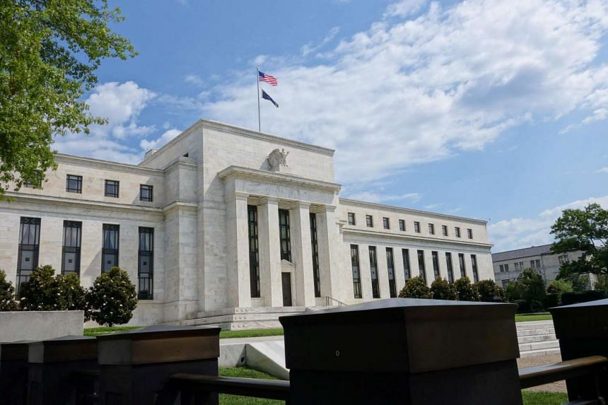 The US Federal Reserve building in Washington, DC, is seen in this file photo.
