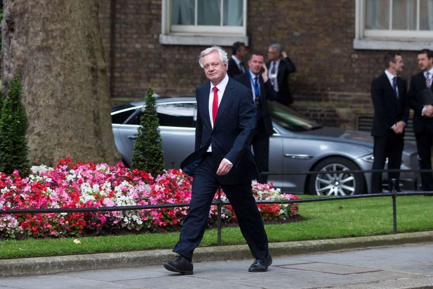 David Davis was appointed by new Prime Minister Theresa May to lead Britain's negotiations on leaving the European Union.