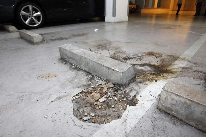 Independent chartered building surveyors found 32 defects in the pool, lift lobbies, residential units and basement carpark at The Seaview condominium.