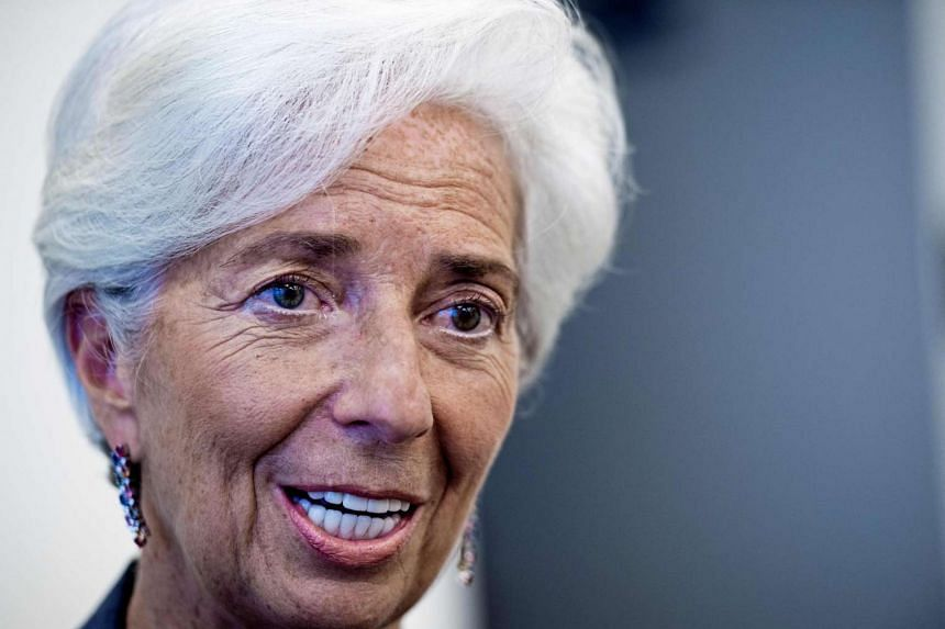 Lagarde (above) said low-income developing countries would be particularly affected by a return of protectionism.