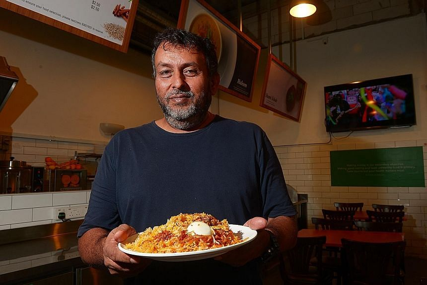 Mr Arif, owner of Bismillah Biryani in Dunlop Street and one-north, thought it was a joke when he received messages from customers congratulating him on his Bib Gourmand rating.