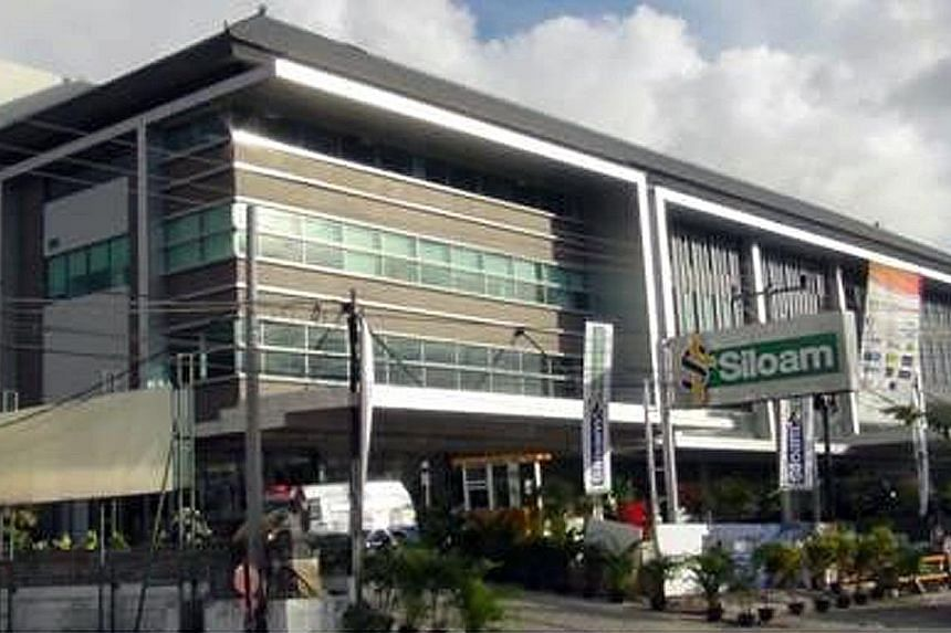 Siloam Hospitals Bali, one of First Reit's properties. CEO Ronnie Tan of the Reit's manager Bowsprit Capital Corporation said its consistent and strategic acquisition trail has continued to boost growth.