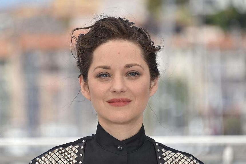 "Marion Cotillard during a press conference for the film ""It's Only The End Of The World (Juste La Fin Du Monde)"" at the 69th Cannes Film Festival in Cannes, southern France on May 19, 2016."