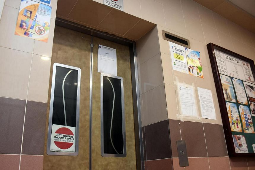There are more than 20,000 lifts installed in HDB estates across Singapore and most are maintained by their original installers rather than third-party contractors.