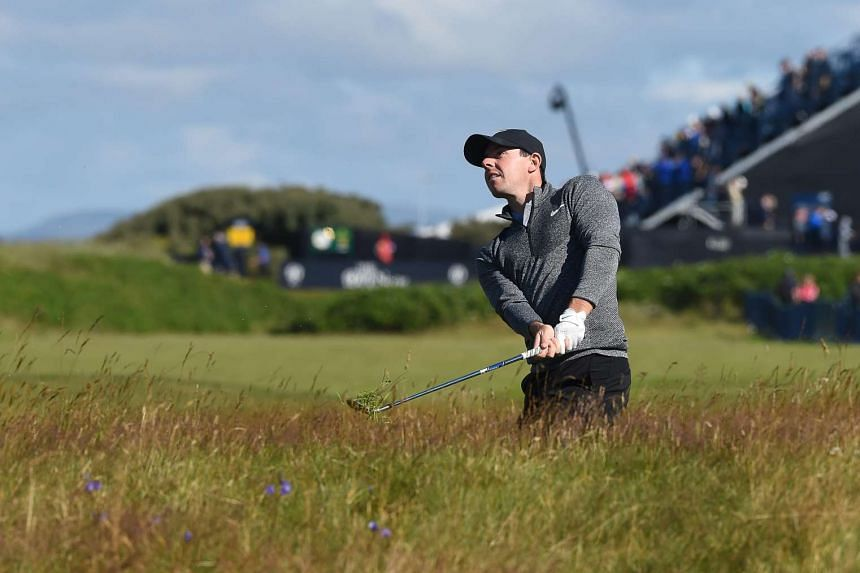 JUNE 22: World No. 4 Rory McIlroy (above, playing in round one of the British Open yesterday) pulls out of the Olympics over Zika and security. He then said on Tuesday that he may not watch the golf at Rio.