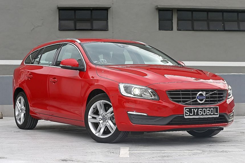 The V60 T5 Polestar glides with almost no resistance from point to point.
