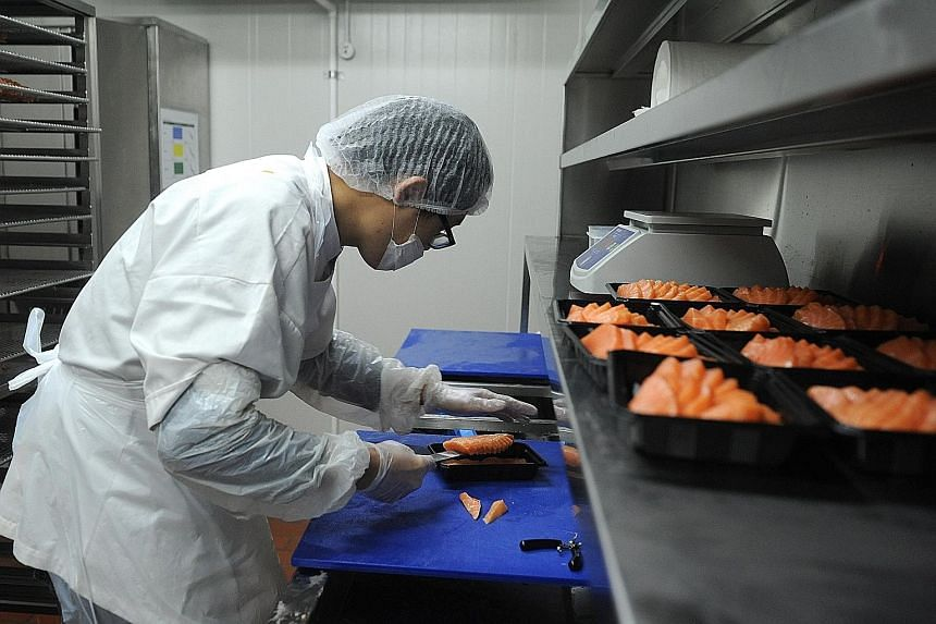 Local seafood and soup supplier Fassler Gourmet had catered solely to Singaporean firms since it opened in 1991, but last year it expanded outside Singapore, exporting to other Asean countries.