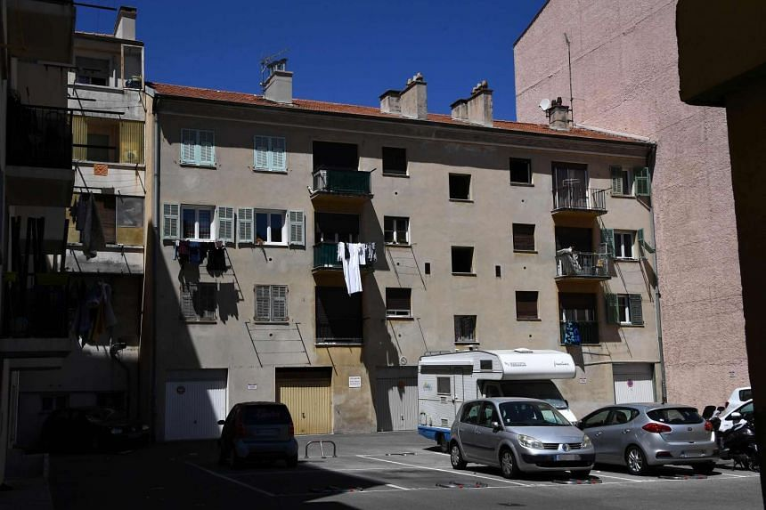 A general view of the building in Nice where Bouhlel reportedly lived.