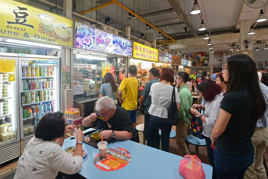 Hoo Kee Rice Dumpling (above) at Amoy Street Food Centre, which normally closes at 3pm, sold out by 12.45pm.