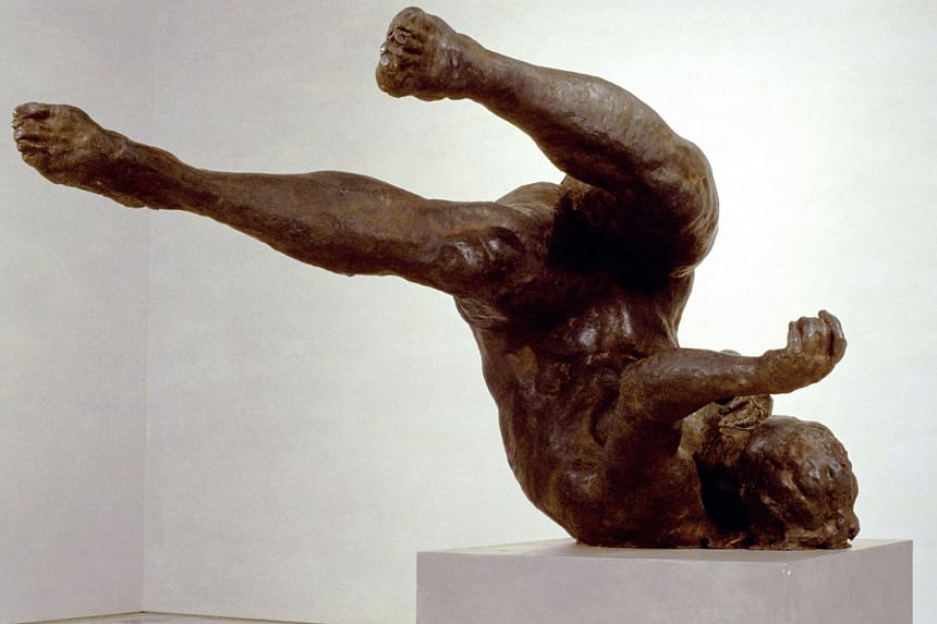 Tumbling Woman by Eric Fischl is one of the pieces that will be on display from Sept 12.