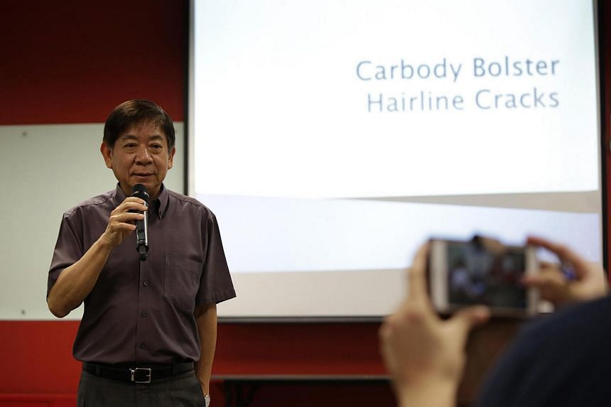 Transport Minister Khaw Boon Wan opening the media briefing on July 12.