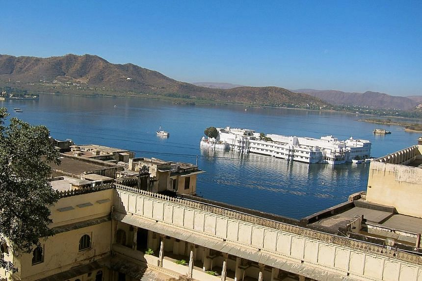 Contiki's new 12-day Eternal India trip includes a visit to Udaipur.