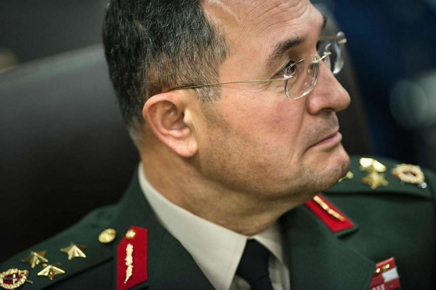 Turkey detained general Erdal Ozturk (above, in a 2014 file photo) on July 16, 2016.