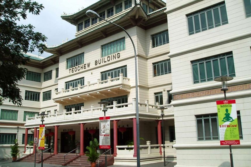 Teochew Building where Ngee Ann-Adelaide Education Centre is located.