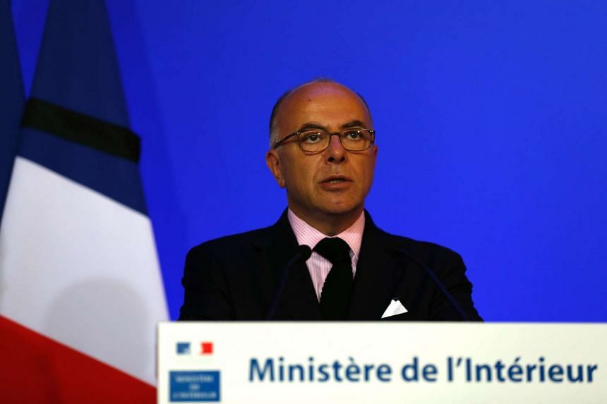 French Interior Minister Bernard Cazeneuve speaking in Paris on July 16 after the Bastille Day attack in Nice.