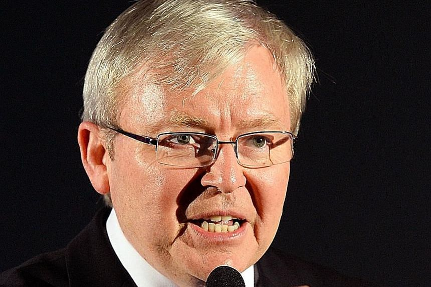 Former Aussie PM Rudd is among over a dozen high-profile candidates for the UN's top job.