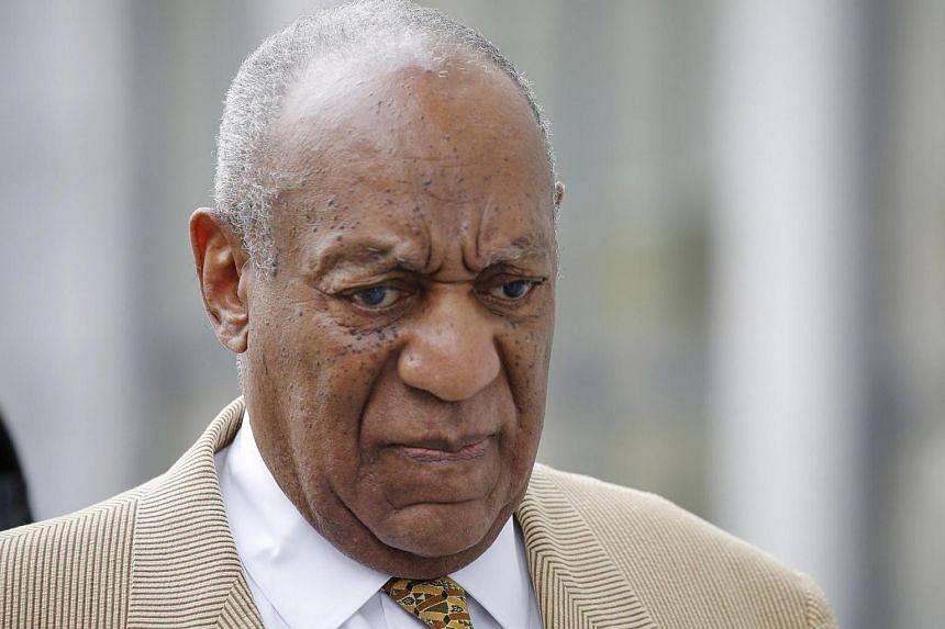 Comedian Bill Cosby arrives at the Montgomery County Courthouse for a preliminary hearing, related to aggravated indecent assault charges, on July 7, in Norristown, Pennsylvania.