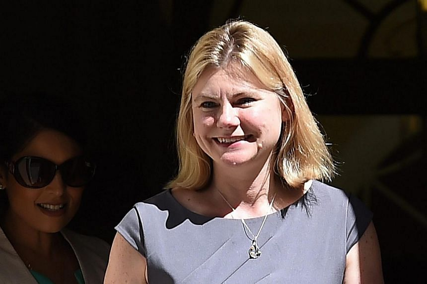 Secretary of State for Education, Minister for Women and Equalities Justine Greening leaving from 10 Downing Street after a Cabinet meeting, on July 19, 2016.