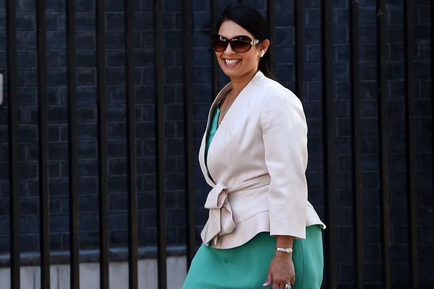 Secretary of State for International Development Priti Patel arriving at 10 Downing Street for a Cabinet meeting, on July 19, 2016.
