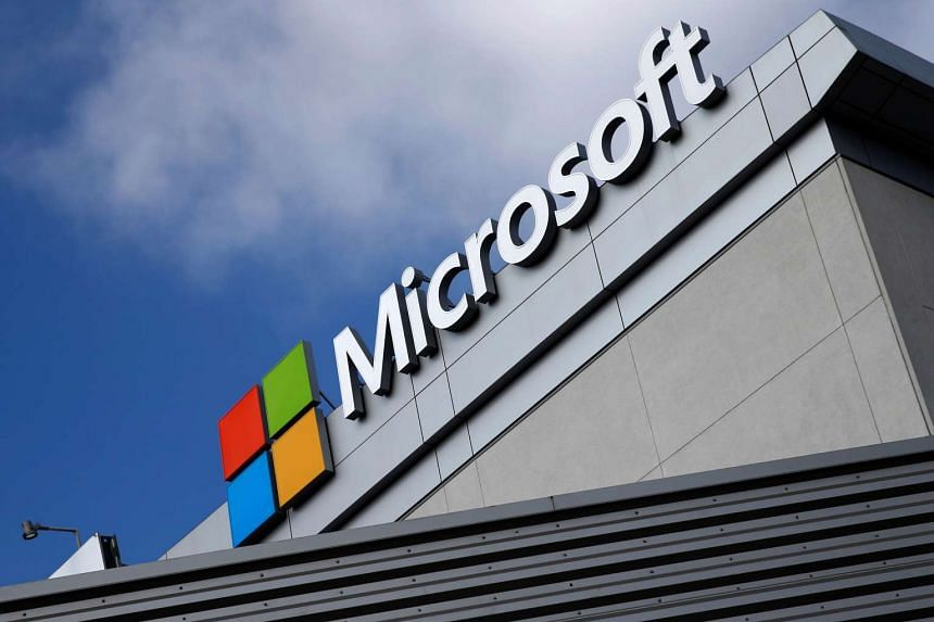 Microsoft posted a profit of US$3.1 billion (S$4.2 billion) in the just-ended quarter.