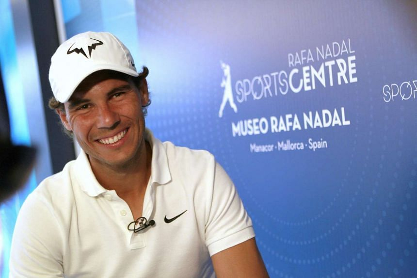 Nadal (above) has not played since pulling out of the French Open before the third round because of a wrist injury.