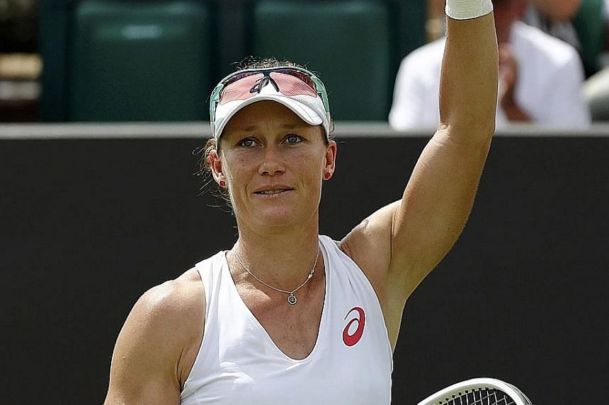 """Australia's Samantha Stosur said that competing at the Rio Olympics next month is """"about being smart, following all the guidelines. I've had all the vaccinations""""."""