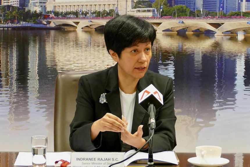 Senior Minister of State for Law and Finance Indranee Rajah said Singapore is aiming to strengthen its position as an international debt restructuring centre.