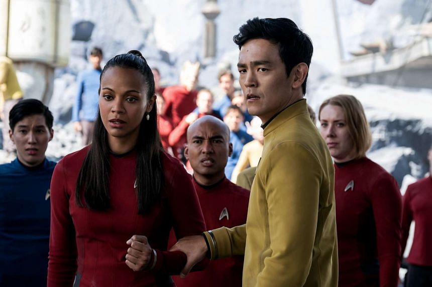 John Cho (above) plays Sulu, who is revealed to be gay in Star Trek Beyond.