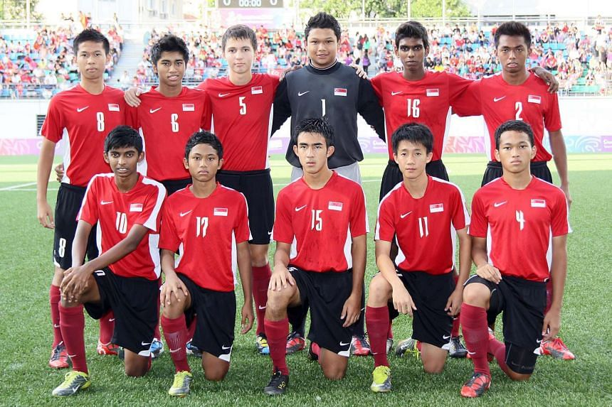 The Singapore boys' team won the bronze medal at the 2010 Youth Olympic Games.