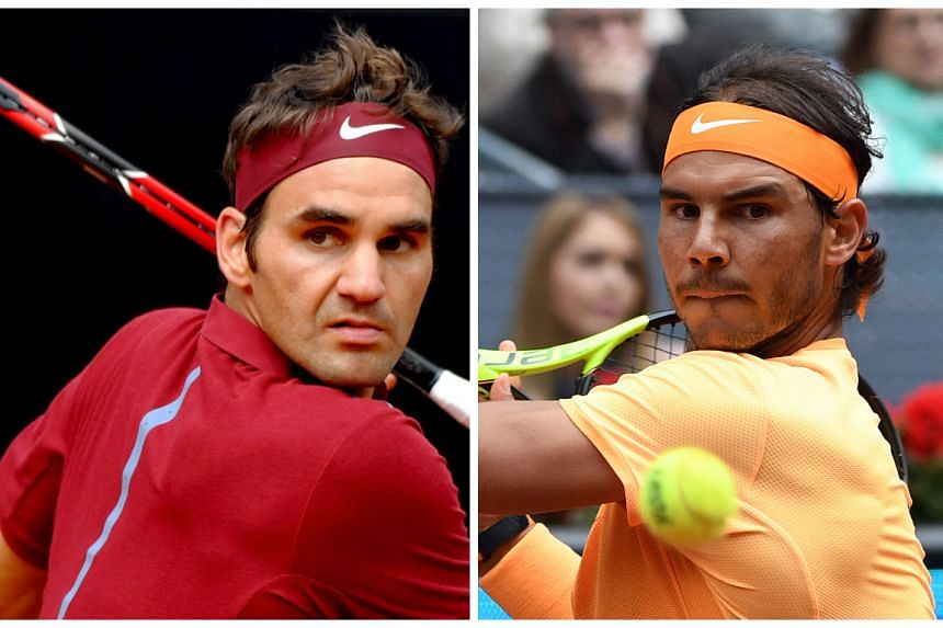 Roger Federer (left) and Rafa Nadal have pulled out of the Rogers Cup in Toronto.