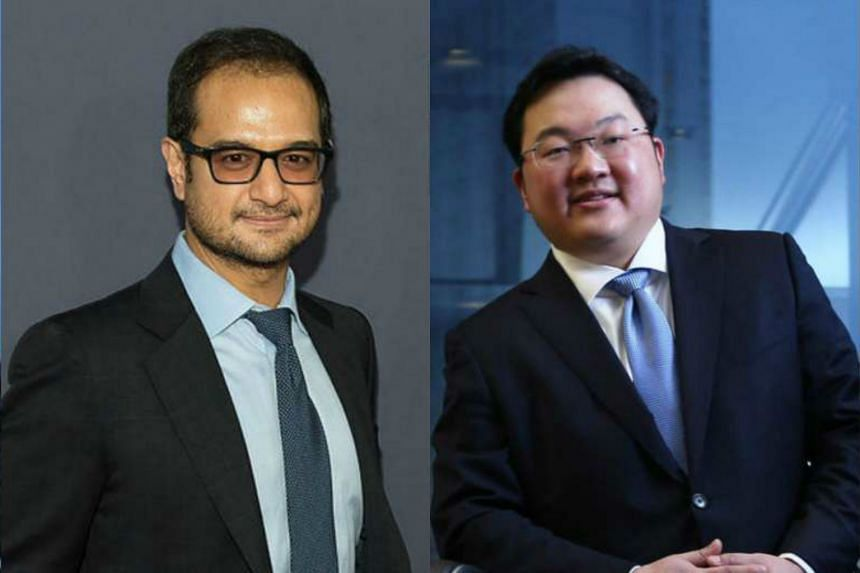 Mr Riza Aziz (left) and Malaysian financier Jho Low have been named by the United States Justice Department in a civil-forfeiture suit.