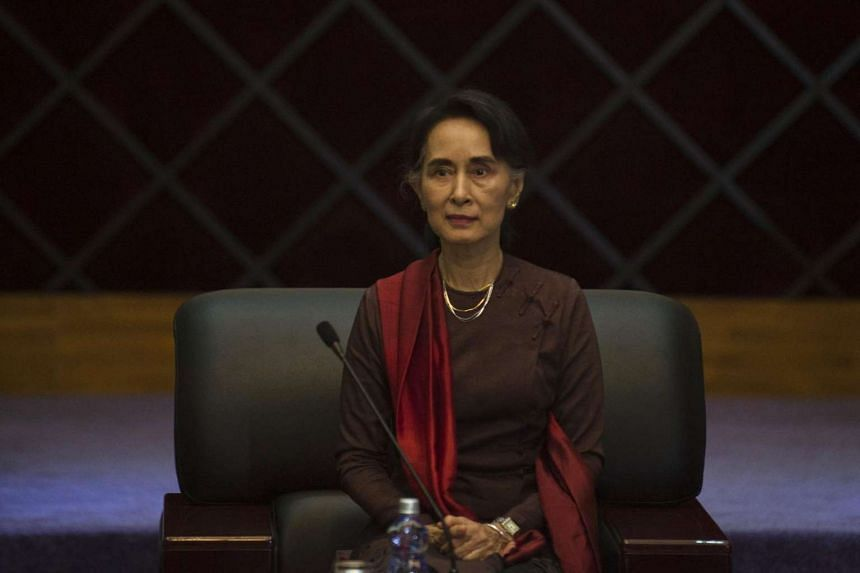 """Aung San Suu Kyi has accepted an invitation from President Barack Obama to visit the United States, which will occur at a """"mutually convenient time""""."""