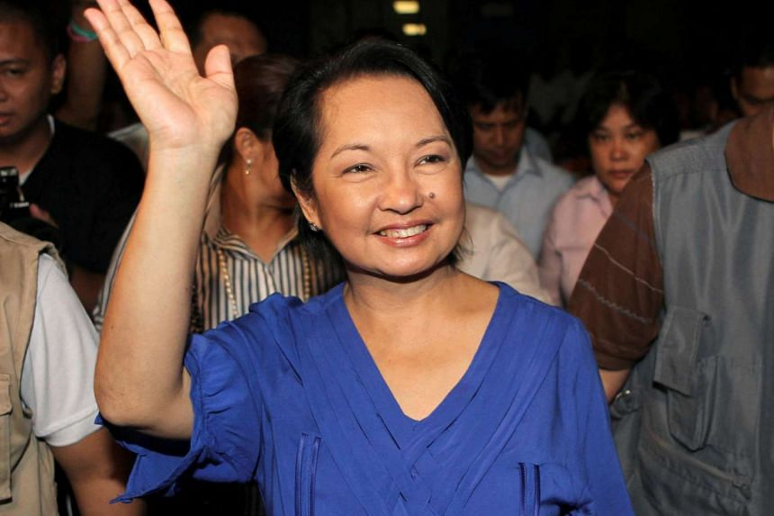 Former Philippine president Gloria Arroyo, seen here in 2010, was freed from detention from a military hospital on Thursday (July 21).
