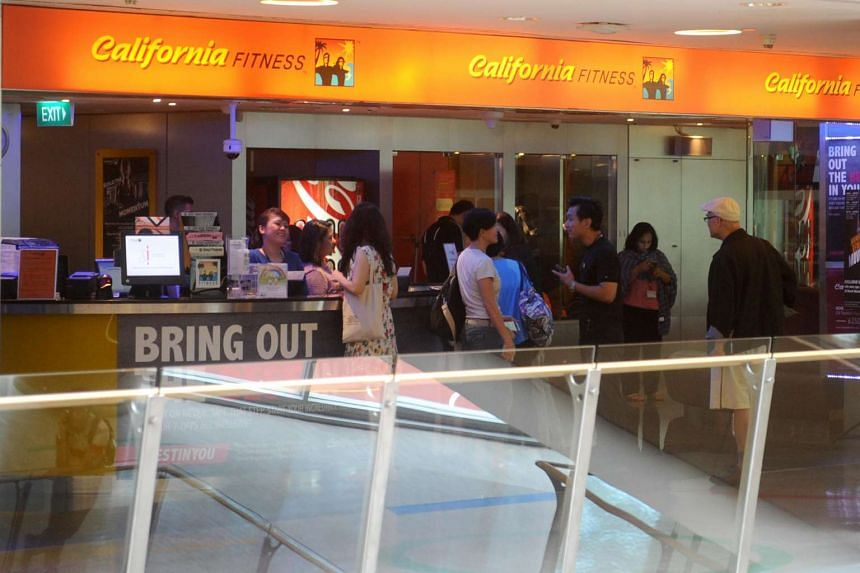 A California Fitness outlet at Velocity in Novena.