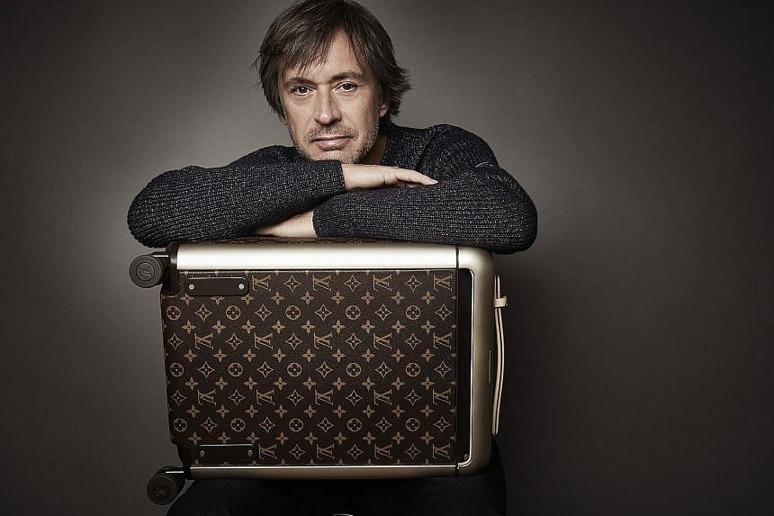 Australian industrial designer Marc Newson has designed kitchen appliances for Smeg and aircraft interiors for Qantas Airways.