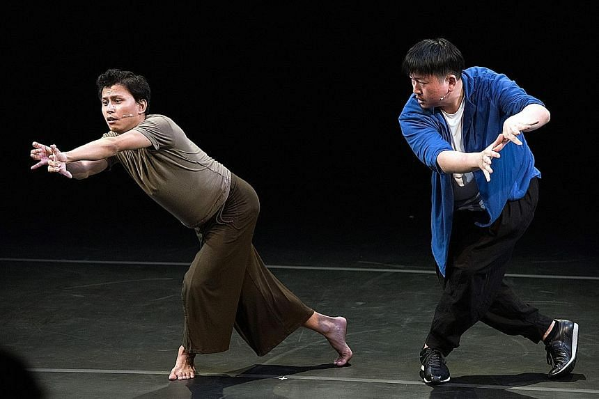 SoftMachine by Choy Ka Fai (right, with Surjit Nongmeikapam) explores the state of contemporary dance in Asia.
