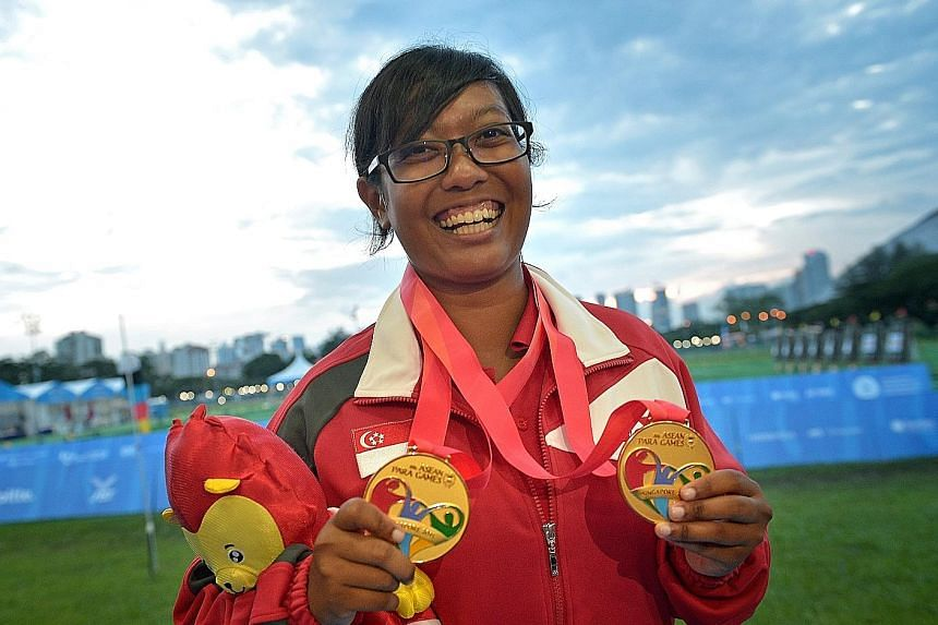 Long jumper Suhairi Suhani and compound archer Syahidah Alim are both first-time Paralympians.