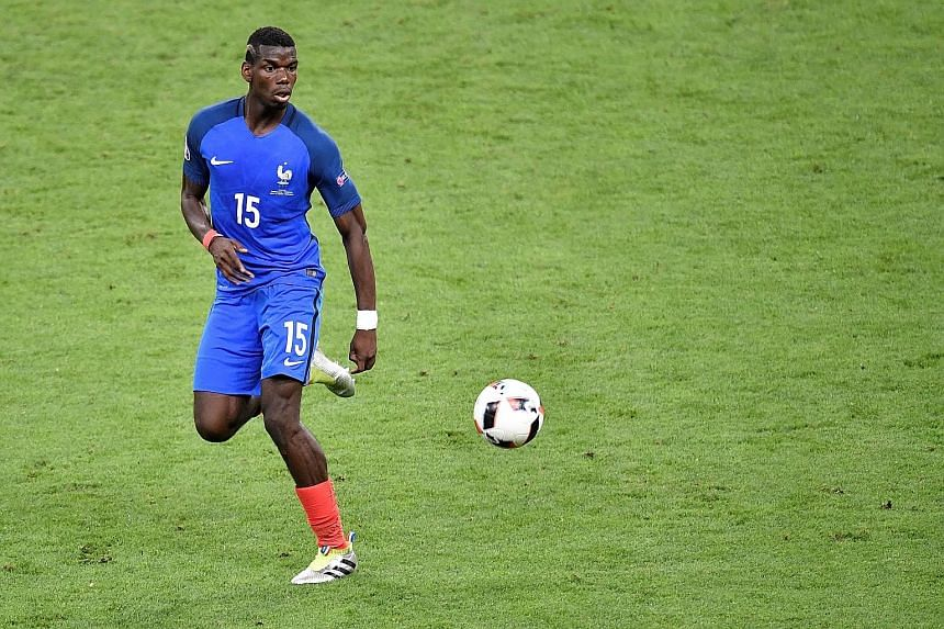 Paul Pogba, in action during France's loss to Portugal in the Euro 2016 final, has reportedly shown an interest in returning to Old Trafford, which he left for free four years ago. His club Juventus will not let him go on the cheap, however, with a w