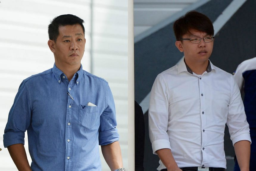 Low (left) is accused of abandoning 18 dogs, among other offences, while Tan is alleged to have not provided adequate medical care for eight dogs at his dog farm.