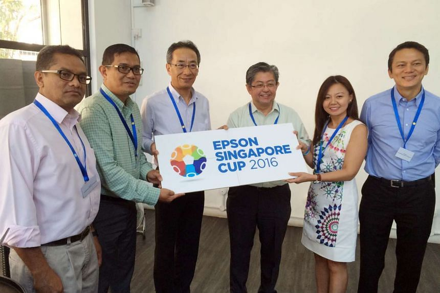 The Epson Singapore Cup 2016 was launched on July 21, 2016.
