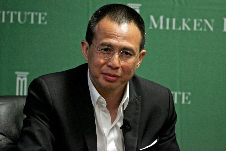 Hong Kong businessman Richard Li, son of Asia's richest man, Li Ka Shing.