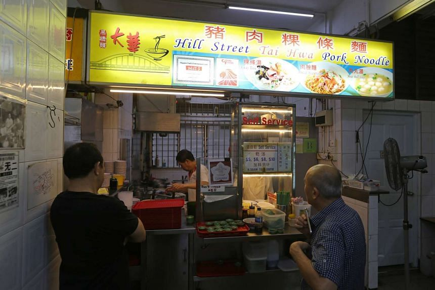 Hill Street Tai Hwa Pork Noodle in Crawford Lane has been awarded the one-star rating by Michelin.