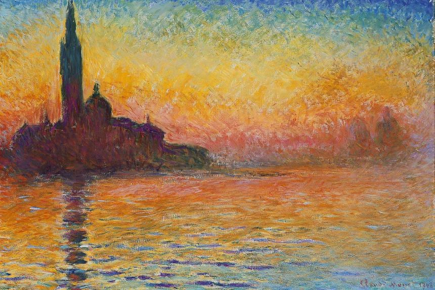 Saint-Georges Majeur Au Crepuscule by Claude Monet