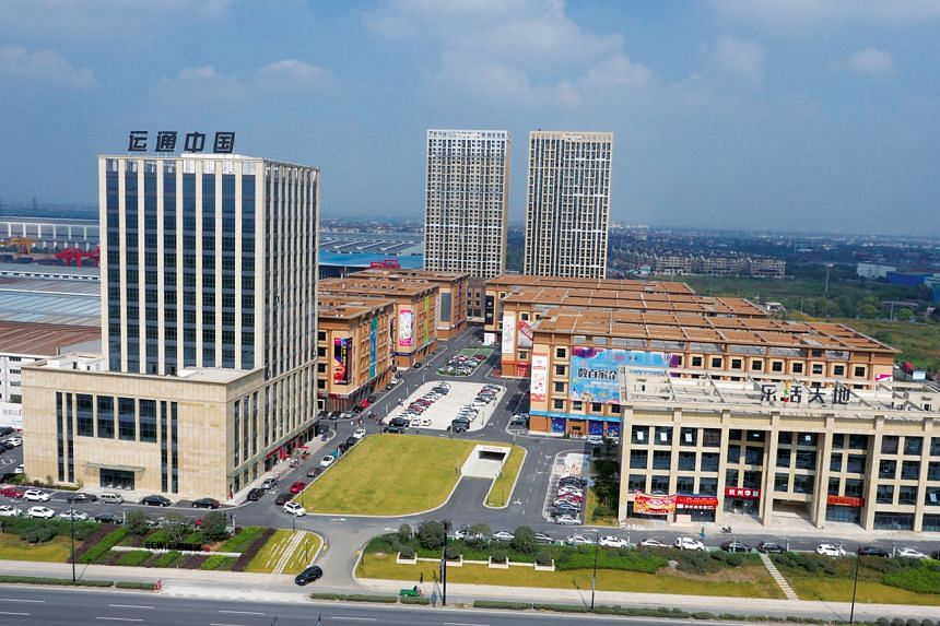 Stage 1 Properties of Bei Gang Logistics, one of the largest e-commerce developments in the Yangtze River Delta. This is one of six properties in EC World Reit's portfolio.