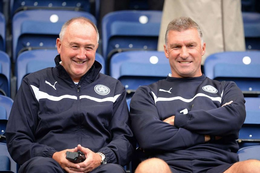 Everton hired Leicester head of recruitment Steve Walsh (left) as their new director of football.