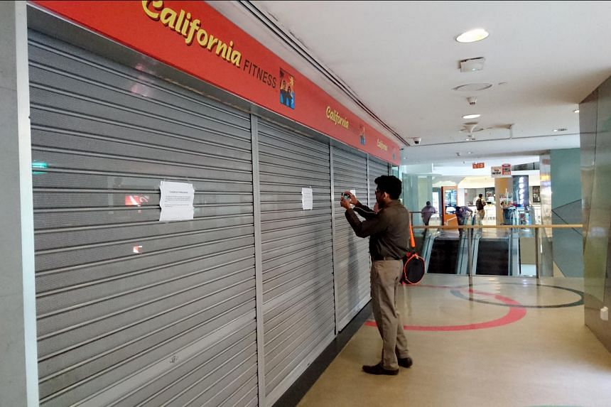 Shutters are down for the California Fitness branch at Velocity.
