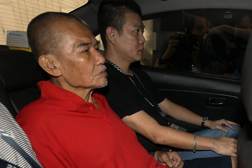 Toh Sia Guan, 64, was charged on July 22 with the murder of a coffee shop helper.